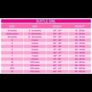 Ruffle Girl Matching Sets - Ruffle Girl Light Pink/Green Tank & Legging Capri